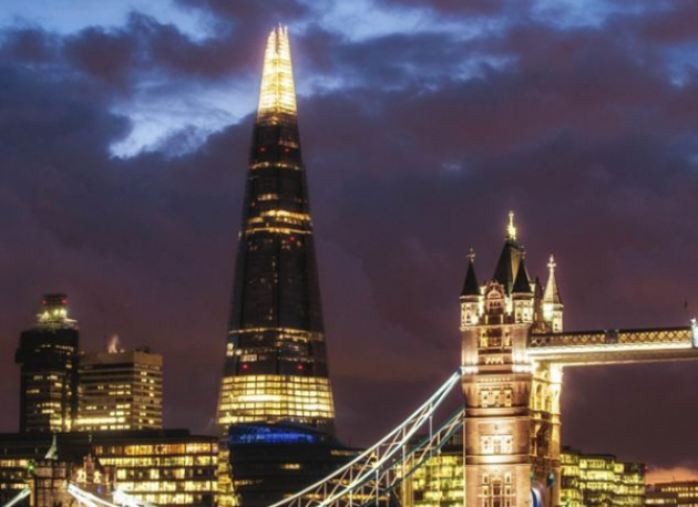 Londra. The Shard di Renzo Piano è vuoto